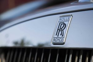 Image of Rolls Royce grill front emblem - Luxian of London Chauffeur and Drive You Home Service