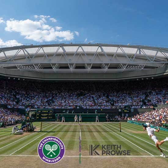 Wimbledon 2019 Hospitality Chauffeur Service from Luxian of London
