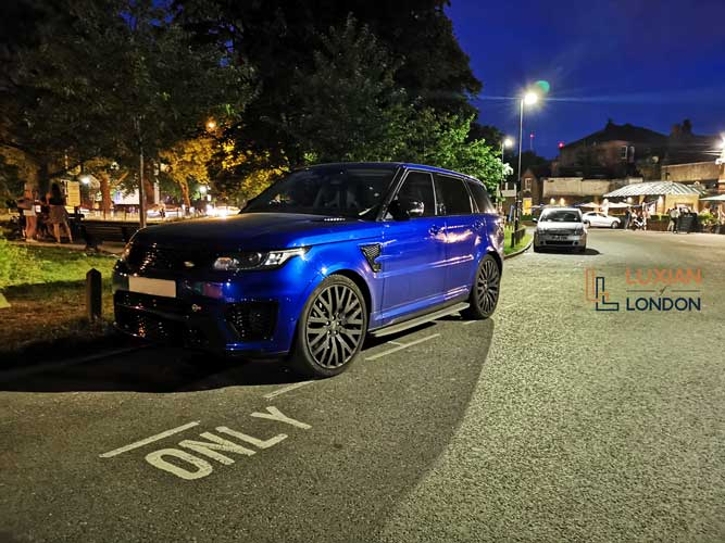 Range Rover SVR Hire for Proms, Weddings and Events